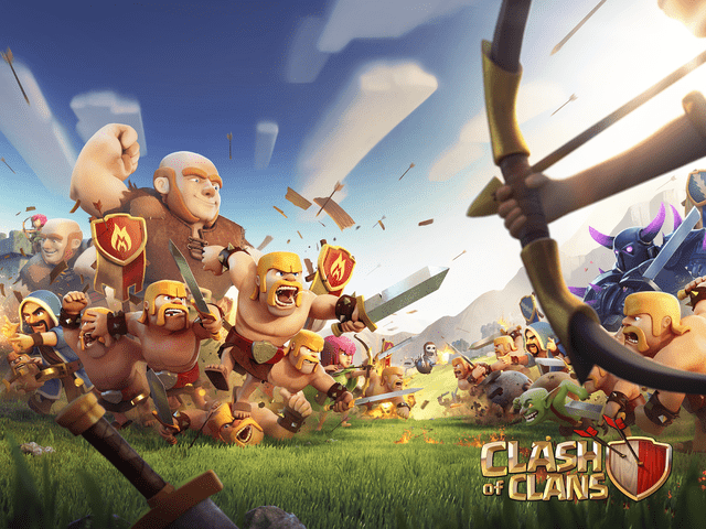 Giao diện game Clash of Clan